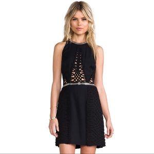 Sass & Bide Cut Out Black Dress